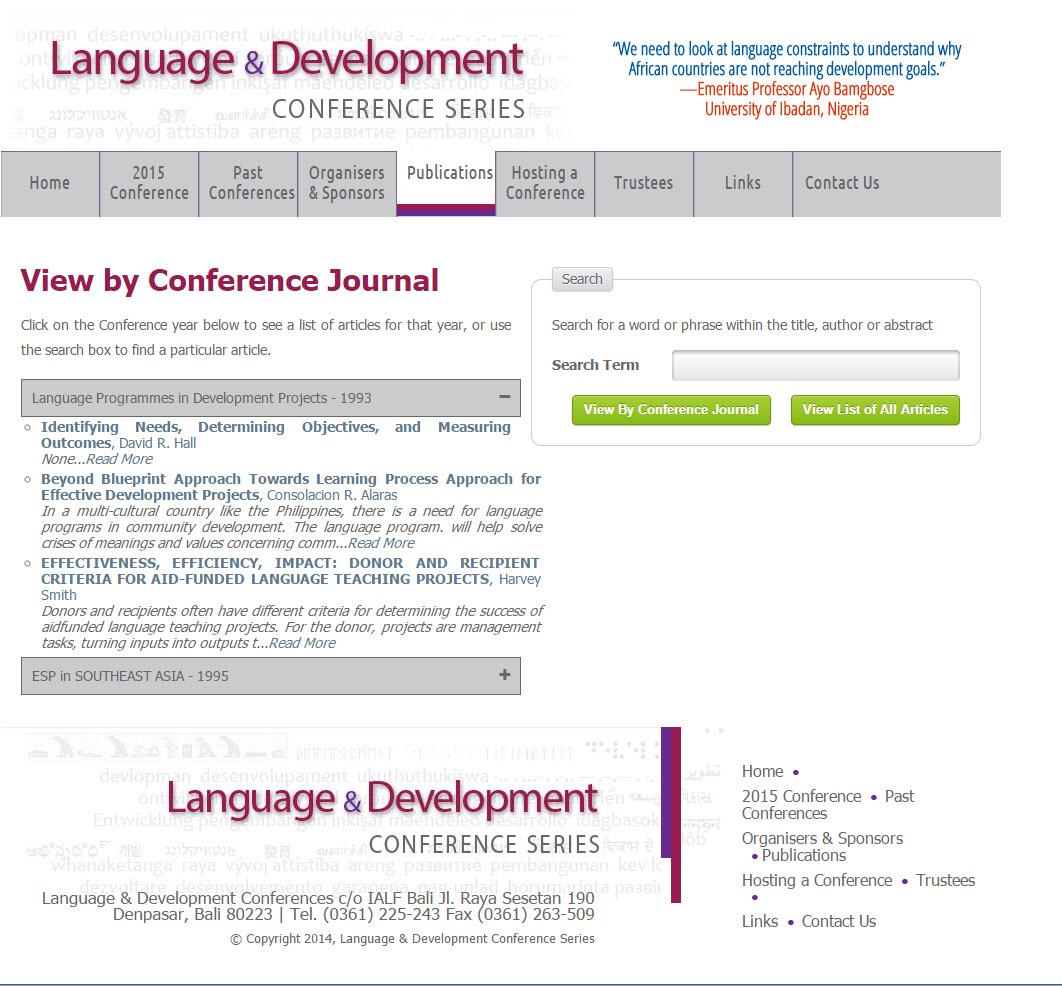LangDevConferences.org