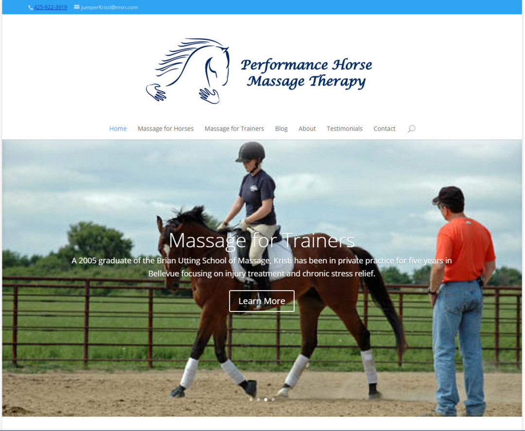 PerformanceHorseMassageTherapy.com
