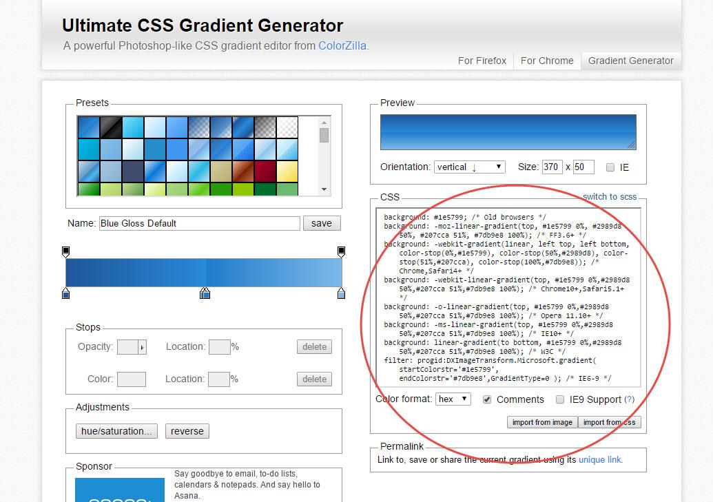Adding A Gradient Background To Wordpress Beyond Paper