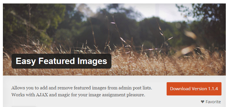 WordPress Plugin Review: Easy Featured Images