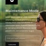 Example of Responsive Maintenance Mode