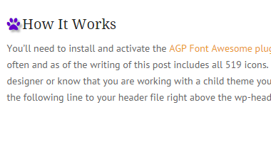 Fun with Font Awesome – Adding Icons to Your WordPress Site